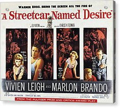 A Streetcar Named Desire, Vivien Leigh Acrylic Print by Everett