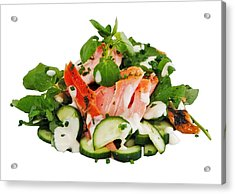 A Summers' Diet Acrylic Print by Mark Lucey