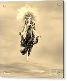 Acrylic Print featuring the painting A Timeless Dream by Lori  Lovetere