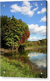 A Touch Of Autumn Acrylic Print by Kristin Elmquist