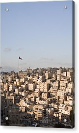 A View Of Amman, Jordan Acrylic Print by Taylor S. Kennedy