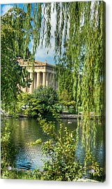 A View Of The Parthenon 8 Acrylic Print by Douglas Barnett
