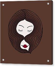 A Woman Acrylic Print