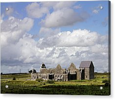 Abbeyknockmoy, Cistercian Abbey Of Acrylic Print by The Irish Image Collection
