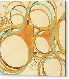 Abstract Circle Acrylic Print by Setsiri Silapasuwanchai