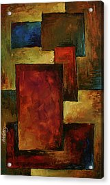 Abstract Acrylic Print by Michael Lang