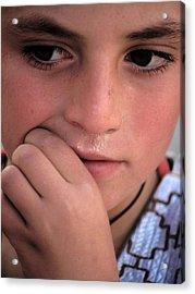 Afghan Child Acrylic Print
