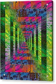 After The Rain 4 Acrylic Print by Tim Allen