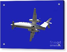 Airplane Acrylic Print by Mats Silvan