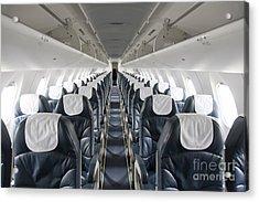 Airplane Seating Acrylic Print by Jaak Nilson