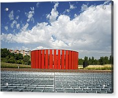 Alcorcon Arts Creation Centre Acrylic Print by Carlos Dominguez