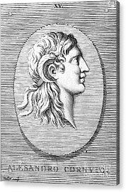 Alexander The Great (356-323 B.c.) Acrylic Print by Granger