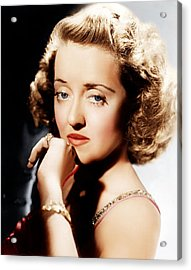 All This, And Heaven Too, Bette Davis Acrylic Print by Everett