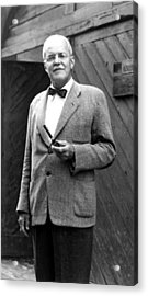 Allen Dulles, One-time Director Acrylic Print by Everett