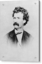 American Writer Mark Twain, Aka Samuel Acrylic Print by Everett