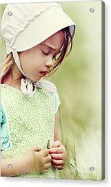 Amish Child Acrylic Print