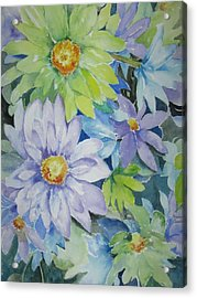 Amy's Bouquet Acrylic Print