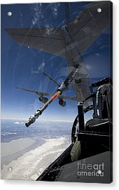 An F-15 Eagle Pulls Into Position Acrylic Print by HIGH-G Productions