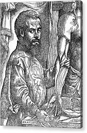 Andreas Vesalius, Belgian Anatomist Acrylic Print