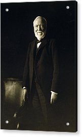 Andrew Carnegie, April 5, 1913 Acrylic Print by Everett