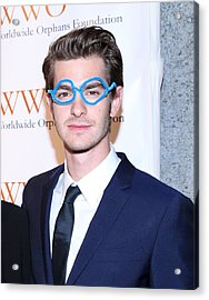 Andrew Garfield At Arrivals For The Acrylic Print