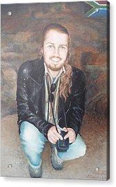 Andy Acrylic Print
