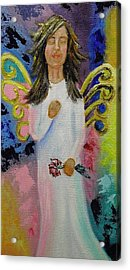 Angel Acrylic Print by Melissa Torres