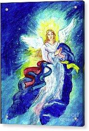 Angel Of Joy Acrylic Print by Doris Blessington