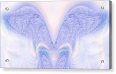 Angel Wings Acrylic Print by Christopher Gaston
