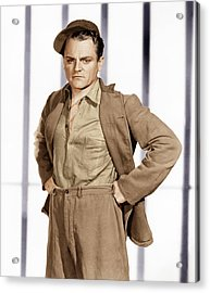 Angels With Dirty Faces,  James Cagney Acrylic Print by Everett
