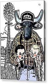 Animal Family 1 Acrylic Print