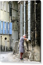 Another Nap.arles.france Acrylic Print by Jennie Breeze