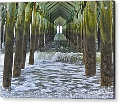 Acrylic Print featuring the photograph Apache Pier by Eve Spring