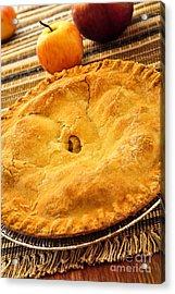 Apple Pie Acrylic Print by Elena Elisseeva
