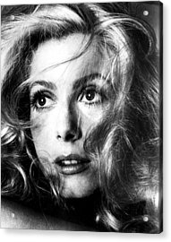 April Fools, Catherine Deneuve, 1969 Acrylic Print by Everett