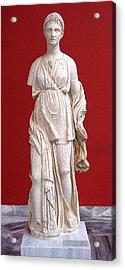 Artemis Acrylic Print by Andonis Katanos