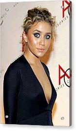Ashley Olsen Wearing Calvin Klein Acrylic Print by Everett