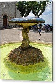 Assisi Italy - Basilica Of Santa Chiara Acrylic Print by Gregory Dyer