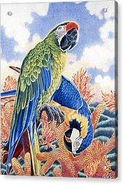 Astarte's Paradise II Acrylic Print by Kyra Belan