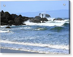 At Falcon Cove Acrylic Print