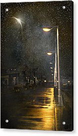 at Night Acrylic Print by Svetlana Sewell