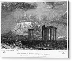 Athens: Olympian Zeus Acrylic Print