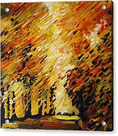 Autumn Acrylic Print by Alexander Antonyuk