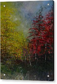 Autumn Sunshine Acrylic Print by Sherry Robinson