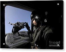 Aviation Warfare Systems Operator Acrylic Print by Stocktrek Images
