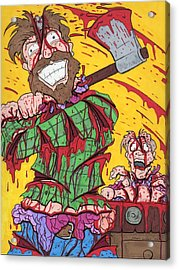 Axe Me Another Acrylic Print by Anthony Snyder