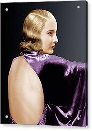 Baby Face, Barbara Stanwyck, 1933 Acrylic Print by Everett