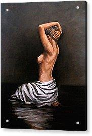 Back Nude Acrylic Print