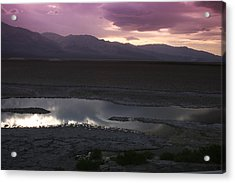 Badwater Basin Death Valley National Park Acrylic Print