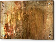 Bamboo Acrylic Print by Christopher Gaston